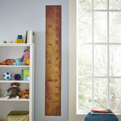 You Rule Growth Chart Wall Decal