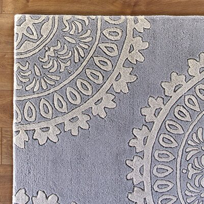 Kelso 3' x 5' Rug in Gray & Ivory