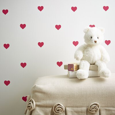 Mini Hearts Wall Decals