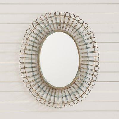 Metal Petal Mirror