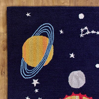 Solar System Rug Rug Size: Rectangle 2 x 3