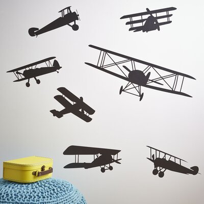 Fearless Flyer Wall Decal Set