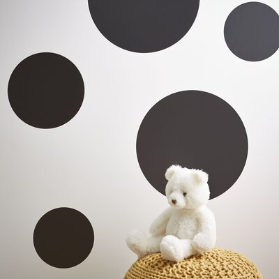 Chalkboard Dot Wall Decal Set