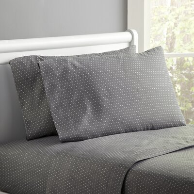 Spot-On Sheet Set Size: Twin, Color: Gray