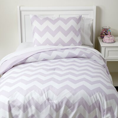 Zig, Meet Zag Bedding Set Size: Twin, Color: Purple