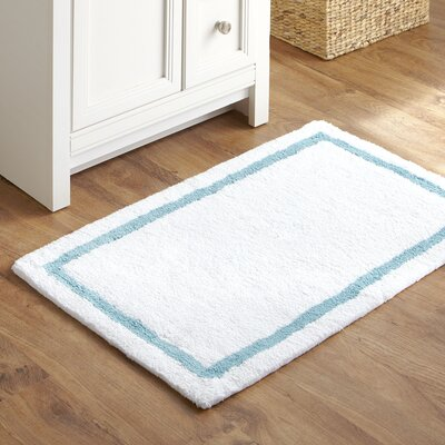 Essentials Bath Mat Color: Aqua