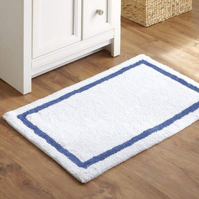 Tiny Toes Bath Mat Color: Navy