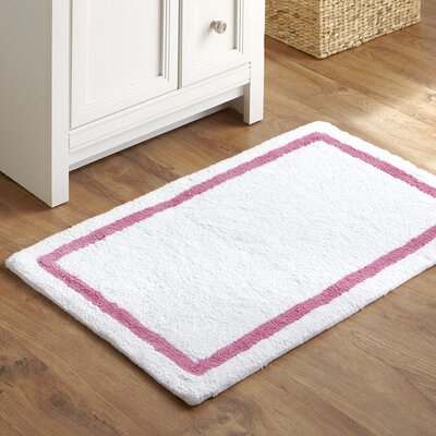 Tiny Toes Bath Mat Color: Pink