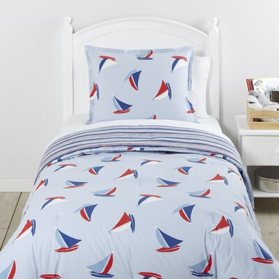 Hoist the Sails 2 Piece Reversible Comforter Set