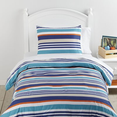 Over the Line Comforter Set Size: Twin