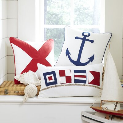 Sailor's Flag Pillow Cover