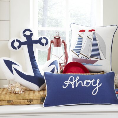 Ahoy Lumbar Pillow Cover