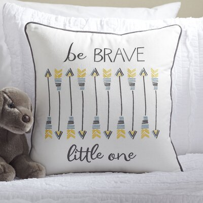 Be Brave Pillow Cover