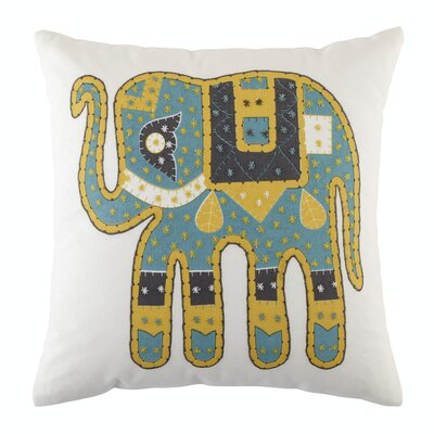 Style Stampede Pillow Cover Color: Turquoise