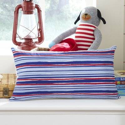 Beach Stripe Lumbar Pillow Cover