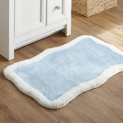 Taffy Bath Mat Color: Blue