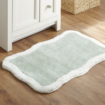 Taffy Bath Mat Color: Green