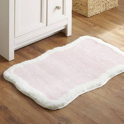 Taffy Bath Mat Color: Pink