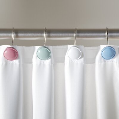 Button Shower Hooks