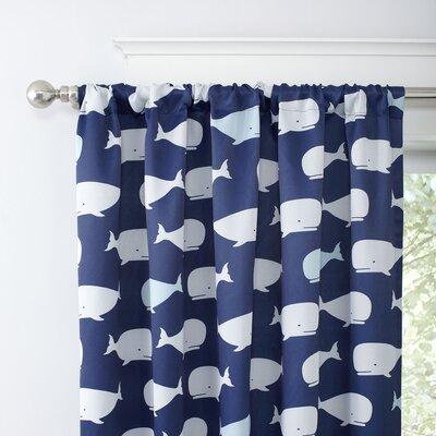 Pod Squad Blackout Curtain Panels Color: Navy