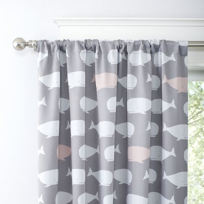 Pod Squad Blackout Curtain Panels Color: Pink