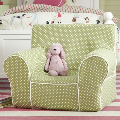Sloane Monogrammed Dotted Chair