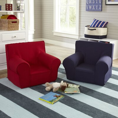 Sloane Monogrammed Solid Chair