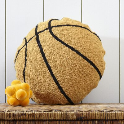 Basketball Hooked Pillow