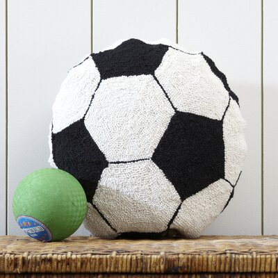 Soccer Ball Hooked Pillow