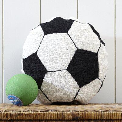 Soccer Ball Hooked Pillow