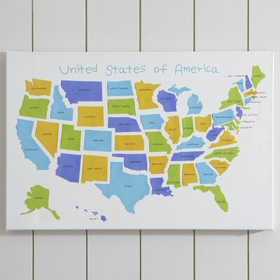 USA! USA! Canvas