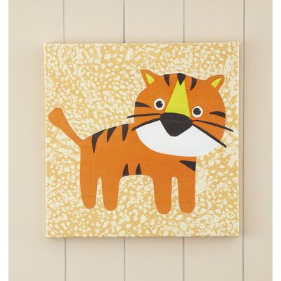 Tiger Jungle Pop Canvas