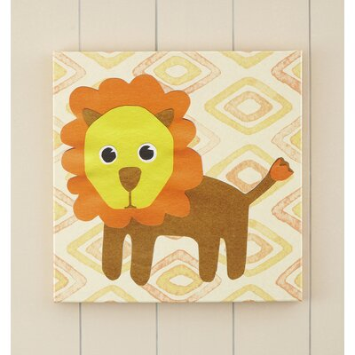 Lion Jungle Pop Canvas