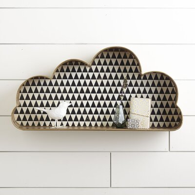 Stay Gold Cloud Wall Cubby (Set of 2)