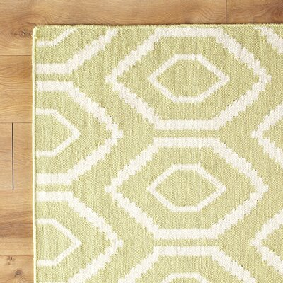 Yellow/Ivory Area Rug
