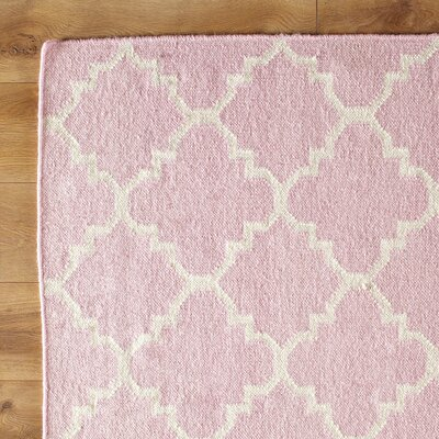 Birch Lane Kids Pink/Ivory Area Rug