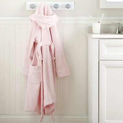 Pink Monogrammed Snuggly Bathrobe