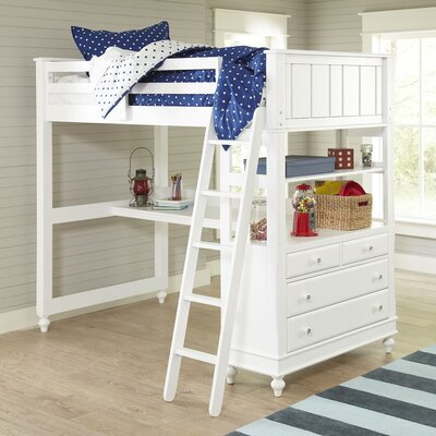 Fairbanks Loft Bed Size: Full