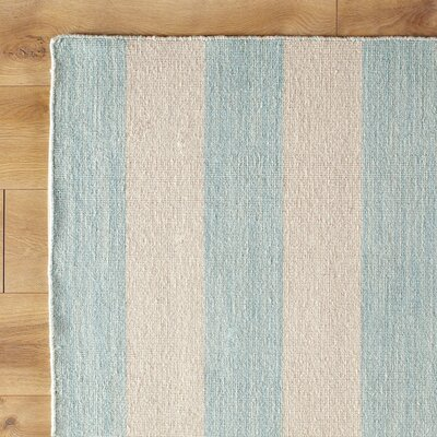 Earn Your Stripes Pool Reversible Rug Rug Size: Runner 26 x 8