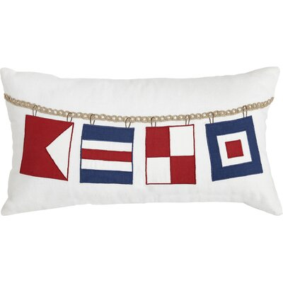 Flag Time Lumbar Pillow Cover