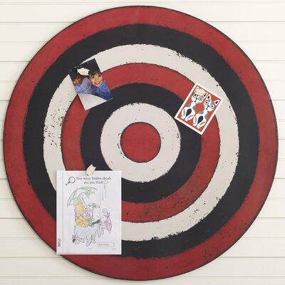 Bullseye Magnetic Memo Board