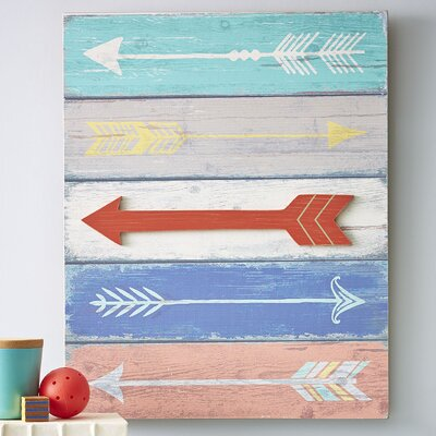 Straight & Arrow Wall Art