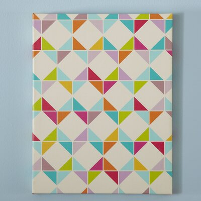 Origami Pattern Canvas II