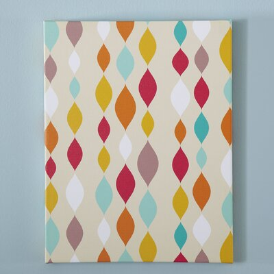 Origami Pattern Canvas I
