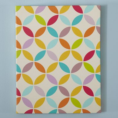 Origami Pattern Canvas III