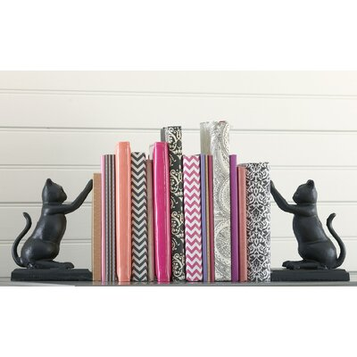 Paw & Print Bookends