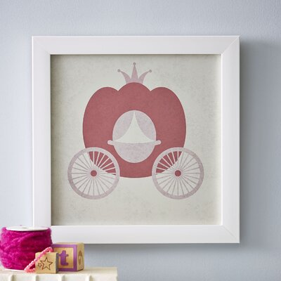 Carriage Princess in Pink Framed Print