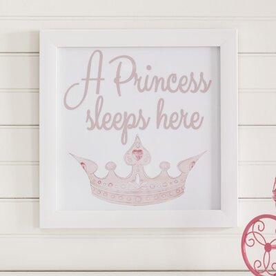 Birch Lane Kids Princess Dreams Framed Print