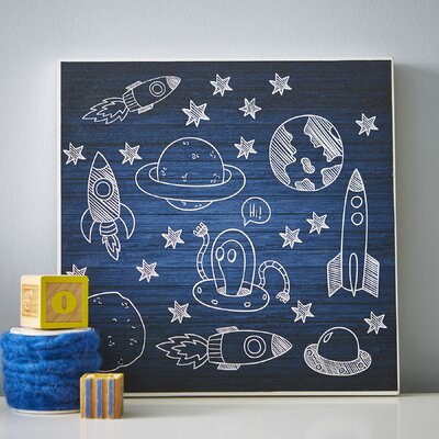 Deep Space Mine Wall Art