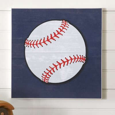 Baseball Sports Center Wall Art